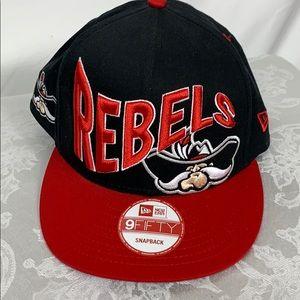 Las Vegas Rebels black/red SnapBack hat